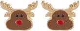 Accessorize Reindeer Stud Earrings