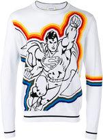 Iceberg Superman pattern jumper - men - Cotton - M