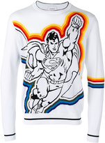 Iceberg Superman pattern jumper - men - Cotton - S