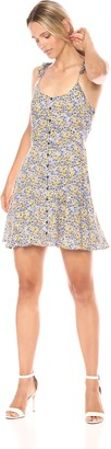 Cupcakes And Cashmere Women's Daryl Floral Print Fit and Flare Dress