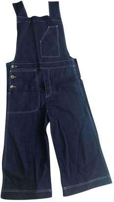 Acne Studios Blue Denim - Jeans Jumpsuits