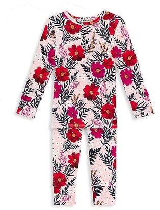 Posh Peanut Little Girl's & Girl's Chloe 2-Piece Pajama Set