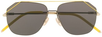 Fendi Eyewear oversized aviator sunglasses