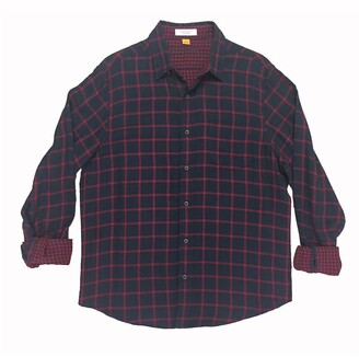 Tailor Vintage Duofold Reversible Plaid Regular Fit Shirt