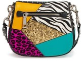 Marc Jacobs Punk Patchwork Small Nomad Leather Crossbody Bag - Black