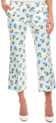 Michael Kors Collection Silk-Blend Pant