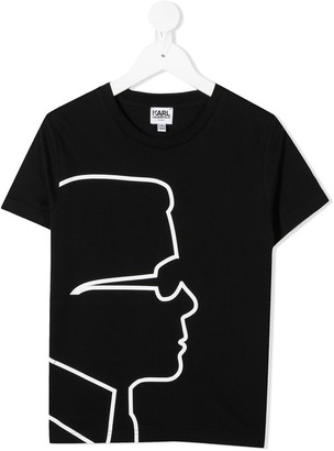 Karl Lagerfeld Paris print T-shirt