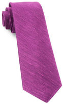 The Tie Bar Textured Linen Silk Tie