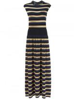 Sonia Rykiel sequined collar maxi dress