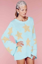 Wildfox Couture Starry Eyed Favorite Sweater in Mall Fountain