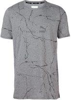 Stampd logo print T-shirt - men - Cotton/Polyester - XL