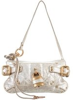 Chloé Metallic Paddington Clutch