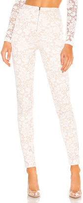 superdown Justene Sheer Lace Pant