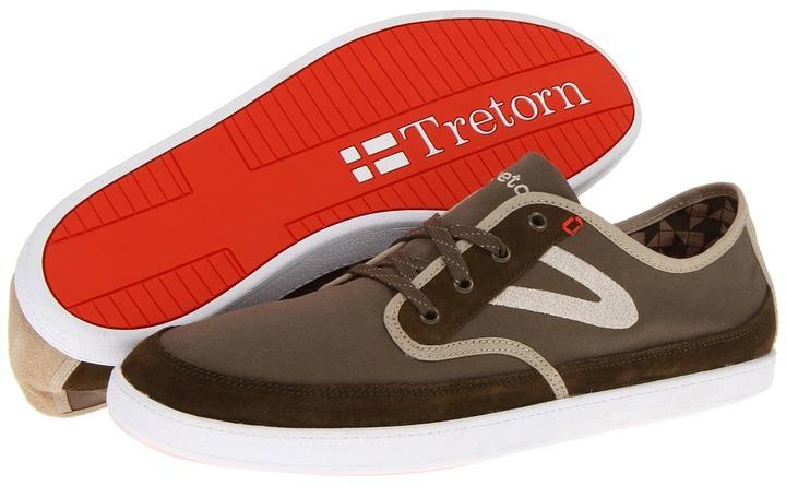 Tretorn Alk rr - Canvas (Dark Olive) - Footwear