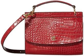 Lauren Ralph Lauren Top-Handle Belt Bag Medium (Red) Bags