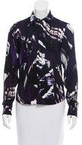 Kenzo Digital Print Button-Up Top w/ Tags