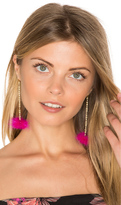 Vanessa Mooney Decades Pom Pom Earrings