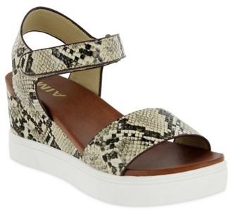 Mia Cayla Wedge Sandal