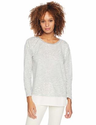 Ruby Rd. Women's 3/4 Sleeve Georgette top