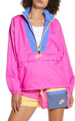 Nike Sportswear Icon Clash Half Zip Jacket