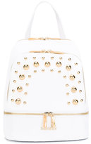 Baldinini embellished backpack - women - Leather - One Size
