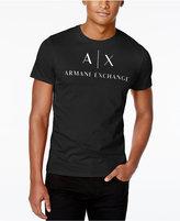 Armani Exchange Men's Graphic-Print Logo T-Shirt