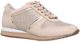Carvela Lennie Leather Sport Shoes, Nude