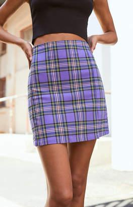 Cara John Galt Plaid Skirt