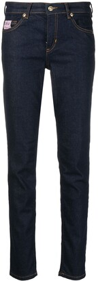 Versace Jeans Couture Low-Rise Slim-Fit Jeans