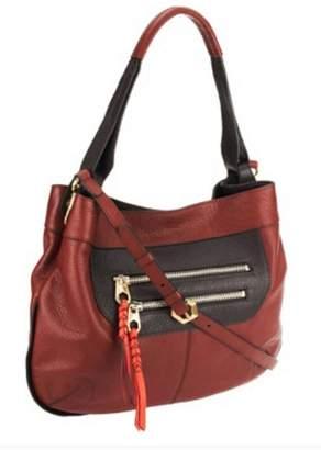 Oryany Sandy Italian Leather Hobo Bag