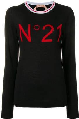 No.21 logo basic jumper
