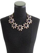 J.Crew Geometric floral necklace