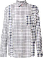 Paul Smith check panelled shirt
