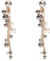Lanvin Faux-pearl drop earrings