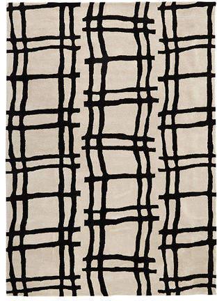Kate Spade Grammercy Broken Plaid Rug, 4' x 6'