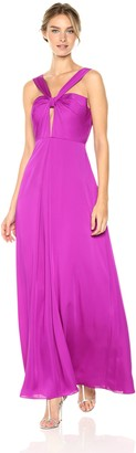Jill by Jill Stuart Women's Halter Cutout Gown