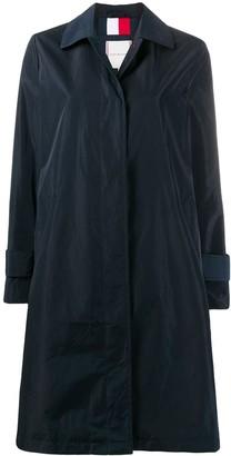 Tommy Hilfiger Plain Single-Breasted Coat