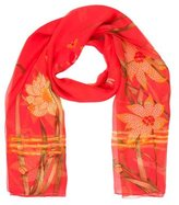 Cartier Chiffon Printed Scarf