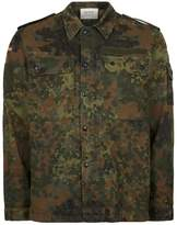 Topman FINDS Camouflage Rainbow Shacket