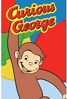 "Fun Rugs Curious George Happy George Kids Rug Rug Size: 19"" x 29"""