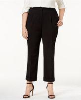Love Scarlett Plus Size Pleated Cuffed Pants