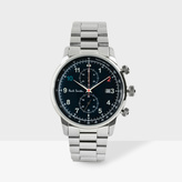 Paul Smith Men's Black And Silver 'Block' Chronograph Watch