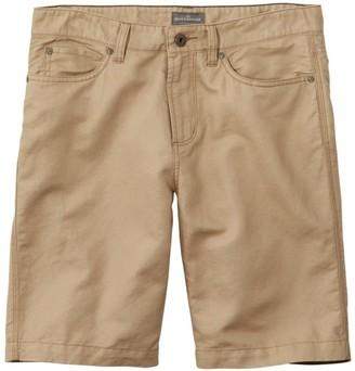 L.L. Bean Men's Signature Linen/Cotton Five-Pocket Shorts