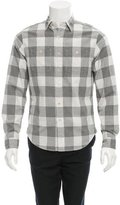 Alex Mill Check Print Button-Up Shirt w/ Tags