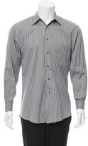Ermenegildo Zegna Striped Woven Shirt