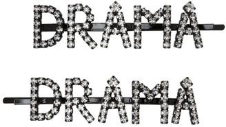 Ashley Williams Transparent Drama Hair Clip Set