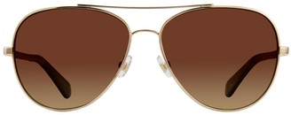 Kate Spade Avaline 58MM Polarized Aviator Sunglasses
