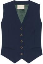 Gucci Fluid drill vest