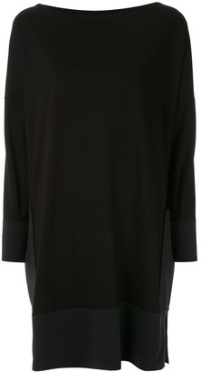 Gloria Coelho Side Pockets Elongated Jumper