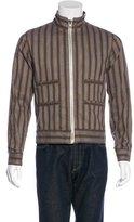 Billy Reid Striped Woven Jacket